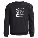 PLAY FOOTBALL SWEAT - Mikina