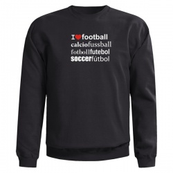 I LOVE FOOTBALL SWEAT - Mikina